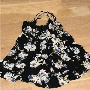 never worn Brandy Melville Jada floral mini dress